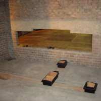 Floated floors 4 - concrete slab drying