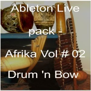Ableton Live pack- download Afrika Vol # 02